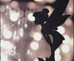 disney, tinkerbell, and light image