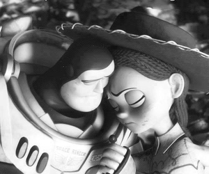 love, toy story, and buzz image