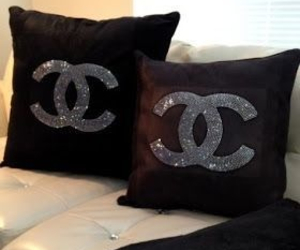 chanel, pillow, and home image
