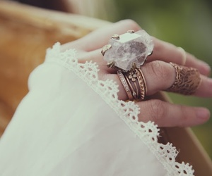 jewelry, rings, and stone image