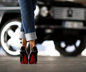 shoes, car, and jeans image