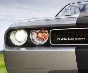 black, car, and Challenger image