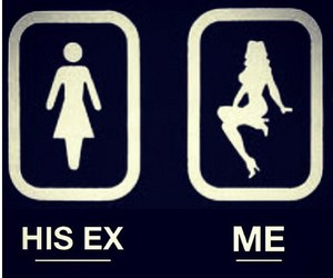 ex, girl, and girls image