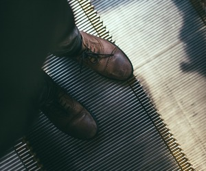 brogues, shoes, and fashion image