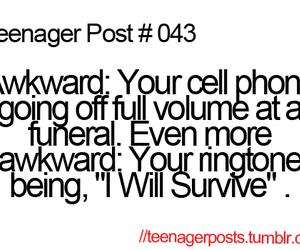 teenager post, awkward, and funny image