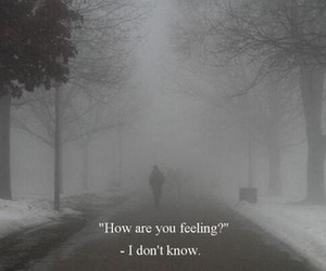 quote, sad, and feeling image