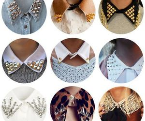 collar, fashion, and stylish image