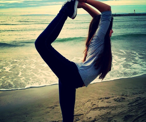 beach and gymnastics image