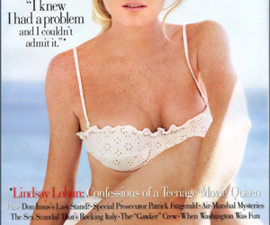 lindsay lohan and Vanity Fair image