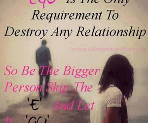 destroy, ego, and quotes image