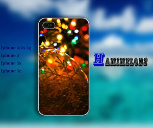 christmas, bling case, and iphone 5 cover image