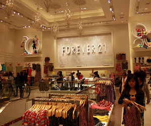 forever 21, clothes, and store image
