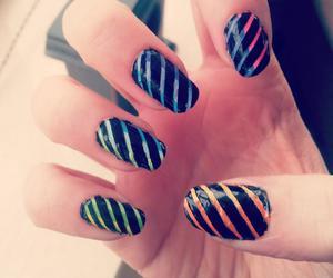 girly, make up, and nail art image
