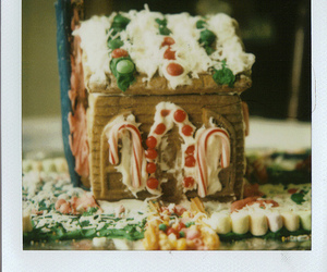 candy, house, and polaroid image