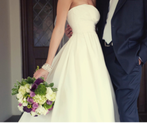 beautiful, gown, and marriage image