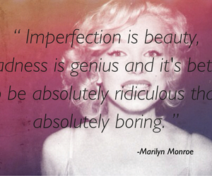 genius, Marilyn Monroe, and quotes image