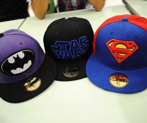 batman, superman, and star wars image