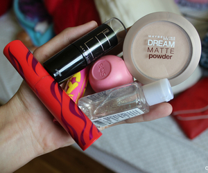 eos, Maybelline, and girly image