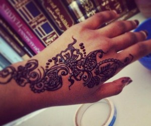 henna and beautiful image