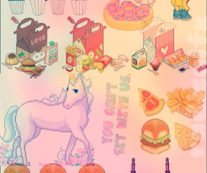 Collage, food, and kawaii image