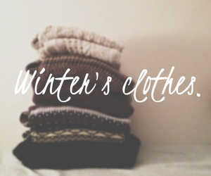 winter, clothes, and cold image