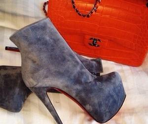 heels, chanel, and bag image