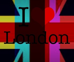 colors, london, and love image