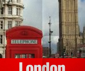 Paper, telephone, and london image