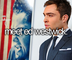 ed westwick, chuck bass, and before i die image