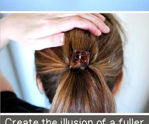 hair, hairstyle, and tips image