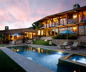 luxury, house, and pool image
