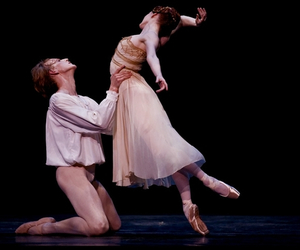 ballet, beautiful, and couple image