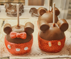 chocolate, food, and mickey image