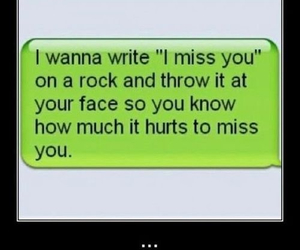 text, rock, and hurt image