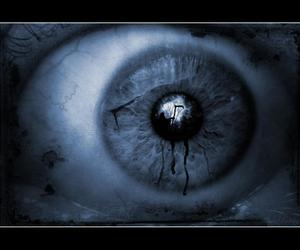 black, eye, and Darkness image