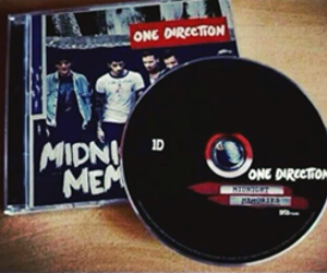 one direction, midnight memories, and niall horan image