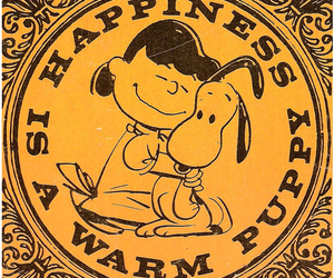 happiness, snoopy, and tina image