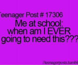 school, teenager post, and teenager image