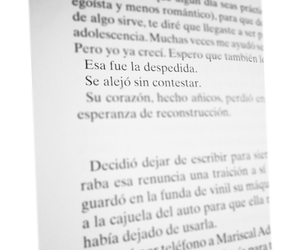 book, frase, and letra image