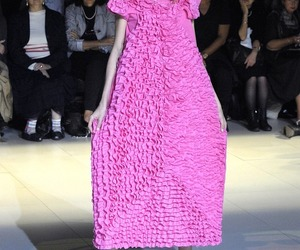 comme des garcons, fashion, and model image