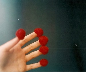 vintage, raspberry, and photography image