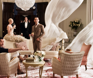 the great gatsby, gatsby, and nick carraway image
