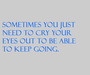 quote and cry image