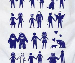 love is love, love, and alien love image