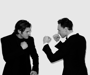 tom hiddleston, thor, and chris hemsworth image