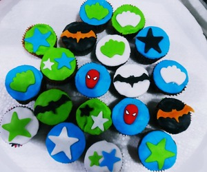 art, heroes, and muffins image