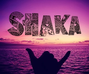 shaka and beach image