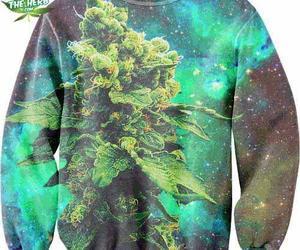 weed, marijuana, and sweater image