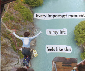 jump, life, and post secret image