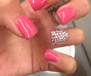 acrylic, socute, and acrylicnails image